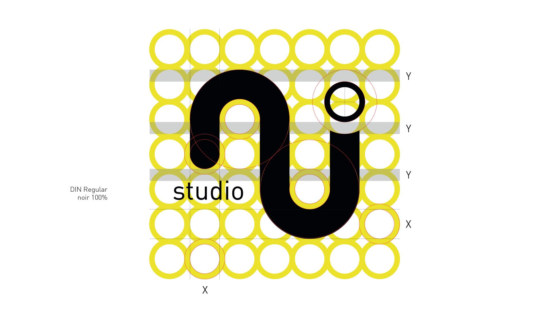 Création logo NJ Studio