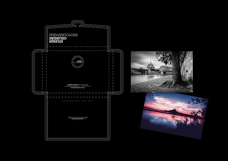 Sylvain Gelineau Photographism Branding - Packaging Photographies