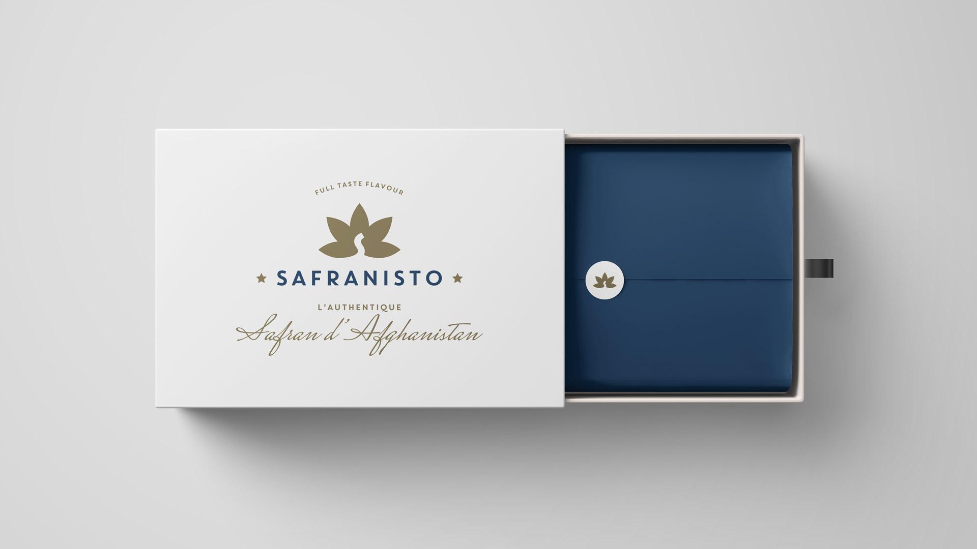 Création packaging safran.
