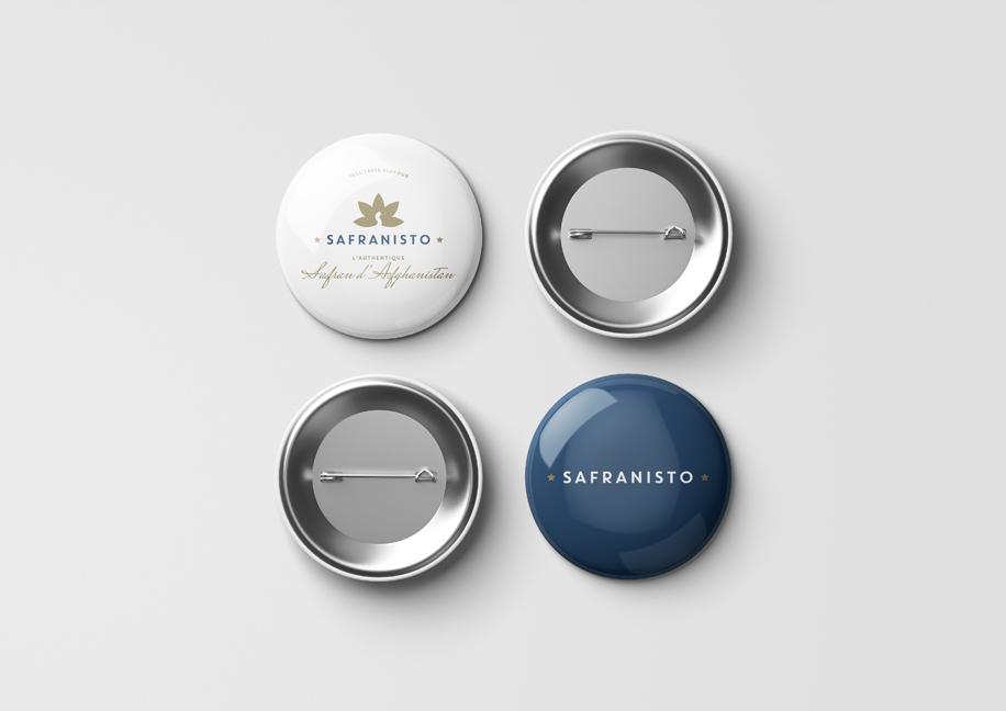 Badge Safranisto