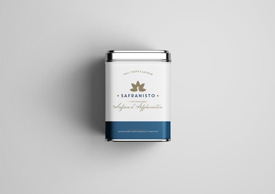 Création graphique packaging safran
