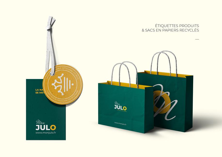 Mise en situation du logo Mon Julo