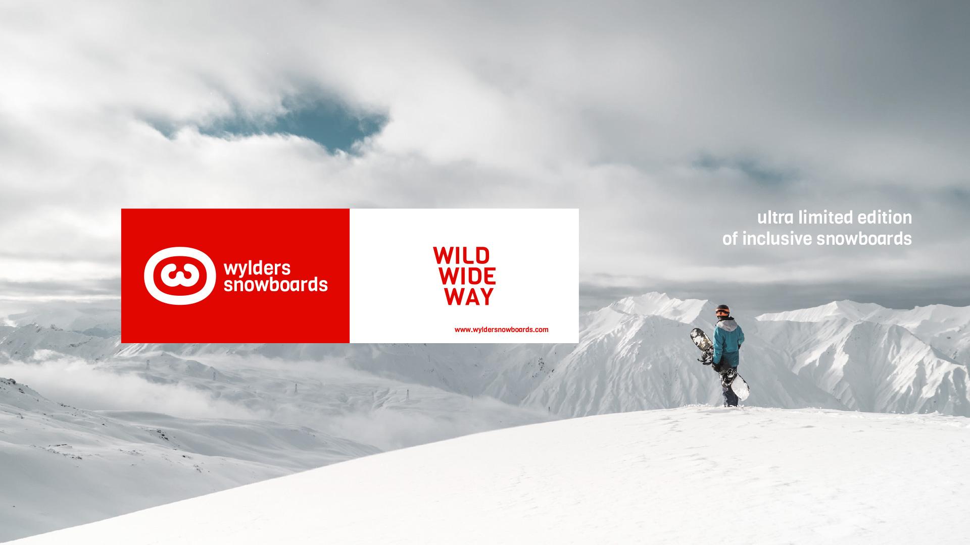 Visuel clé Wylders Snowboards