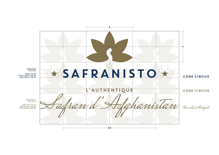 Dessin technique logo Safranisto